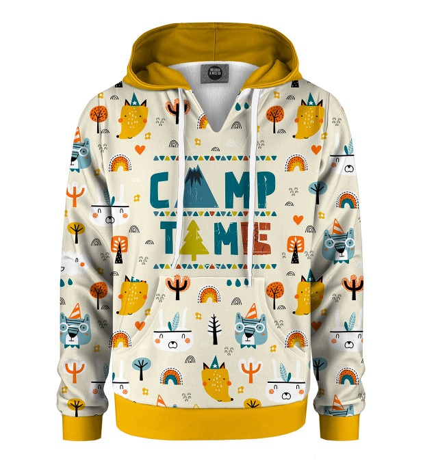 Camp Time Kids Hoodie Miniature 1