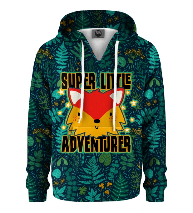 Super Little Adventure Kids Hoodie Miniature 1