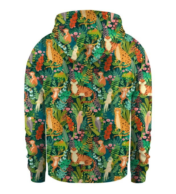 In the Jungle Kids Zip Up Hoodie Miniature 2
