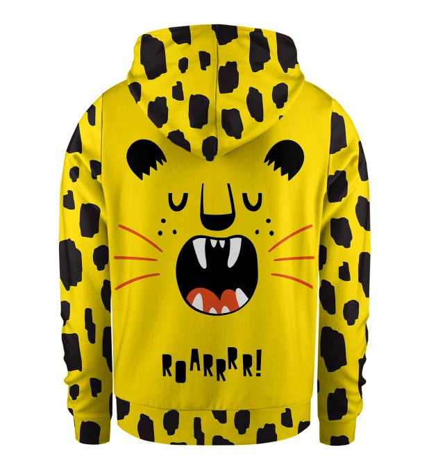 Roarrrr Kids Zip Up Hoodie Miniature 2