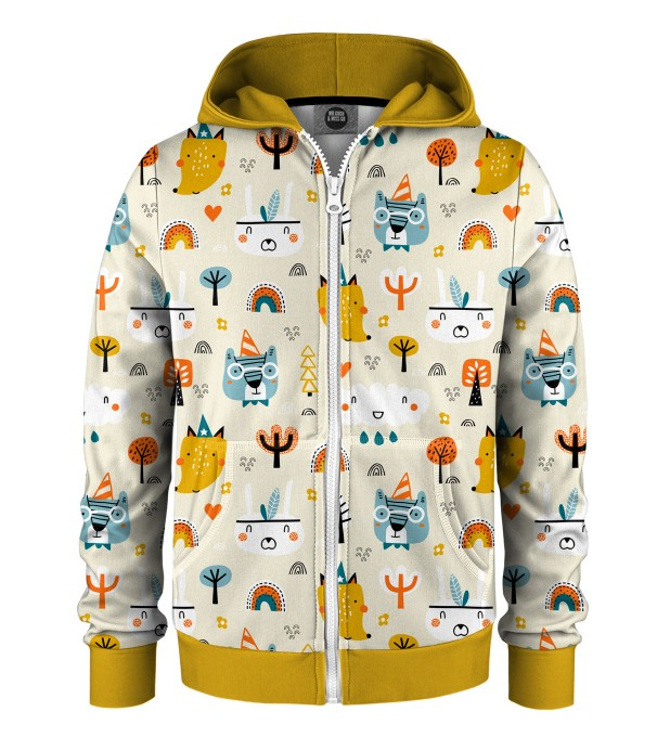 Camp Time Kids Zip Up Hoodie Miniatura 1