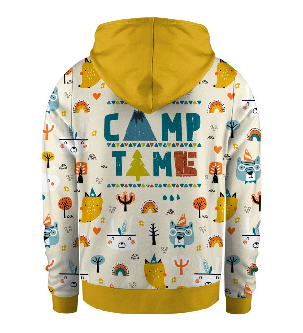 Camp Time Kids Zip Up Hoodie Miniatura 2