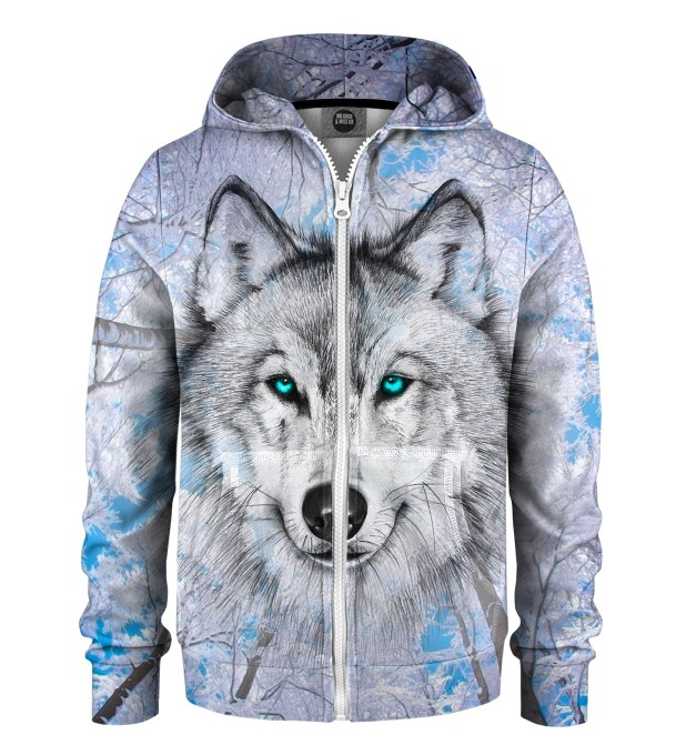 Wolves Kids Zip Up Hoodie Miniatura 1