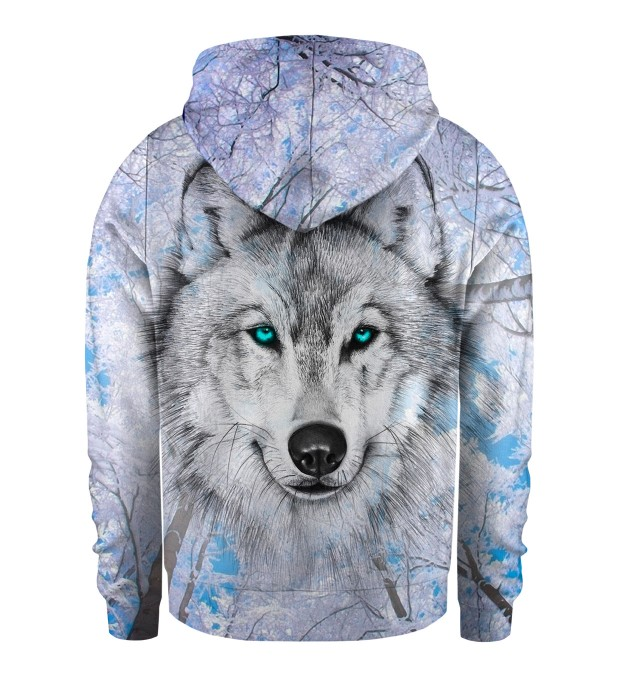 Wolves Kids Zip Up Hoodie Miniatura 2