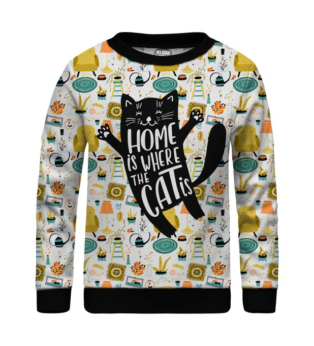 Home Cat sweater for kids Miniature 1