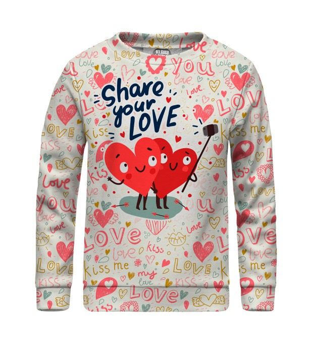 Love Selfie sweater for kids Miniature 1