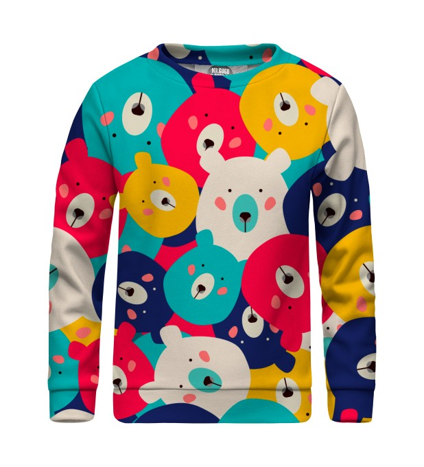 Colorful Bears sweater for kids Miniatura 1