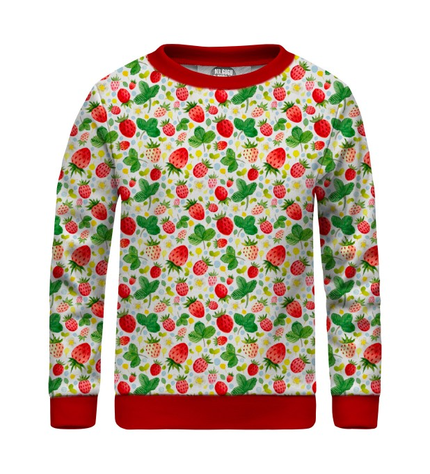 Strawberries Pattern sweater for kids аватар 1