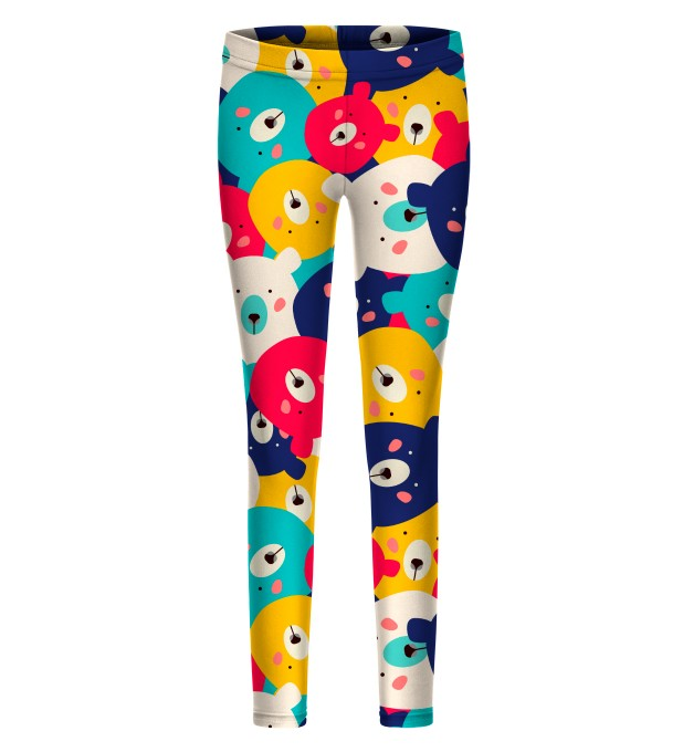 Colorful Bears leggings for kids Thumbnail 1