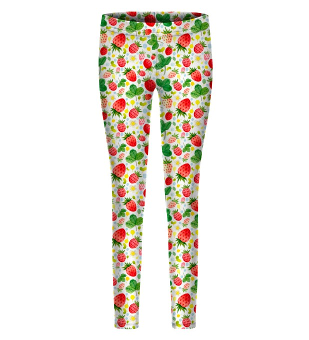 Strawberries Pattern leggings for kids Thumbnail 1