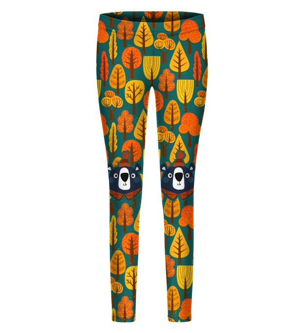 Bear Explorer leggings for kids Miniaturbild 1