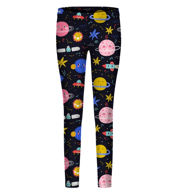 Funny Space leggings for kids Thumbnail 1