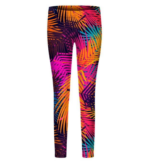 Colorful Palm leggings for kids Thumbnail 1
