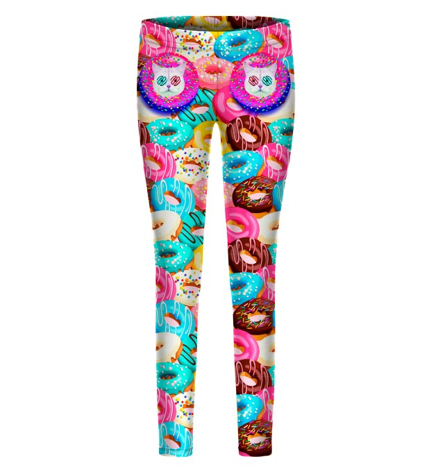 Donut Cat leggings for kids Thumbnail 1