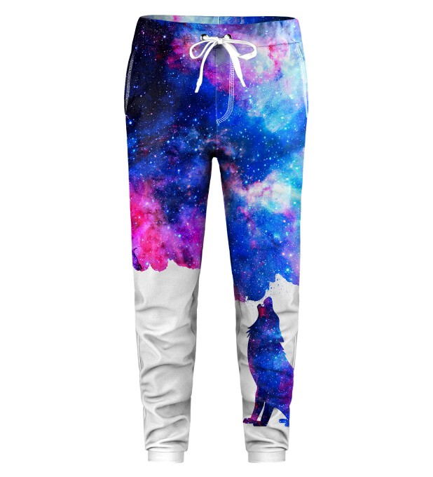 Howling to galaxy Kids Sweatpants Miniature 1