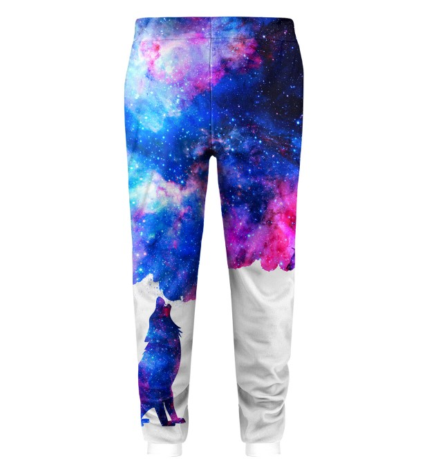 Howling to galaxy Kids Sweatpants Miniature 2