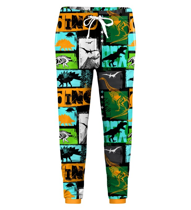 Dinosaurs Kids Sweatpants Thumbnail 1