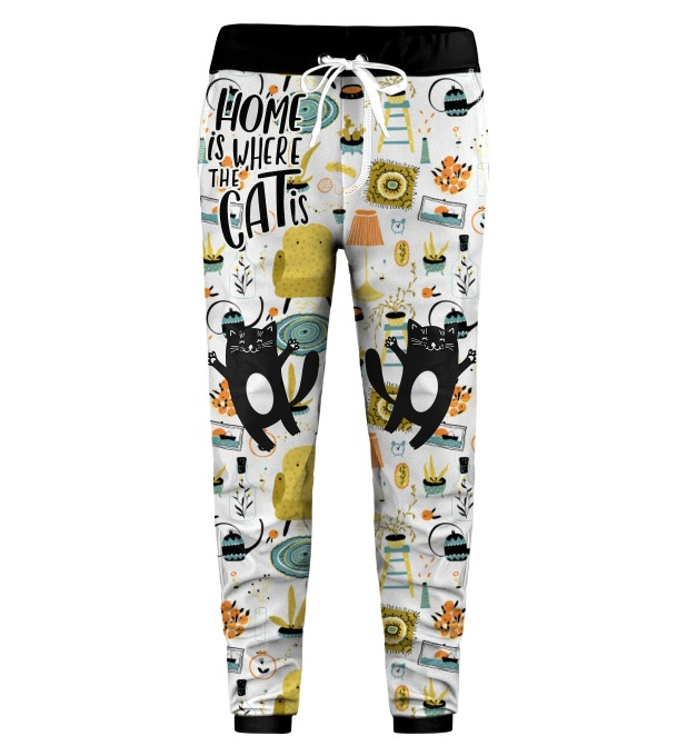 Home Cat Kids Sweatpants Miniature 1