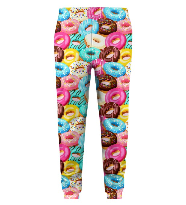 Donut Cat Kids Sweatpants Miniature 2