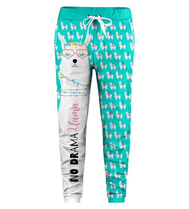 No Drama Llama Kids Sweatpants Miniature 1