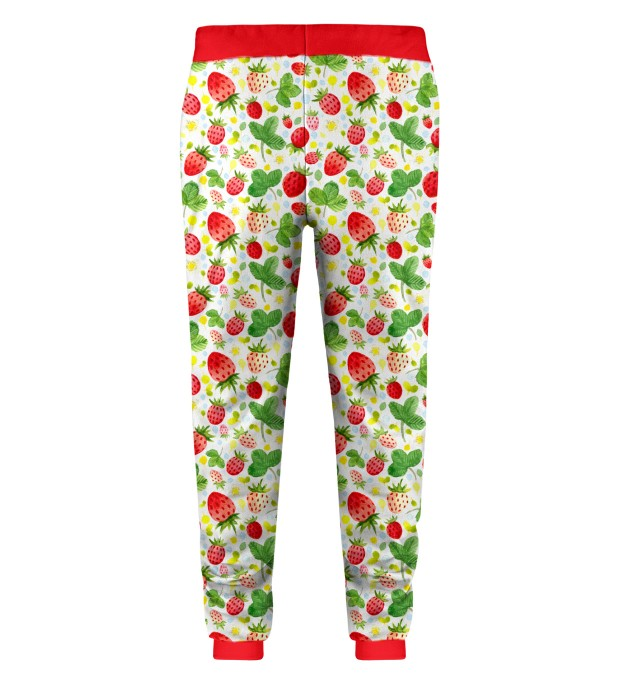 Strawberries Pattern Kids Sweatpants Thumbnail 2