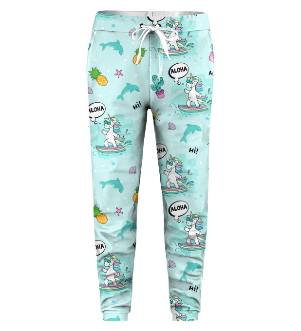 Surfing Unicorn Kids Sweatpants Miniatura 1