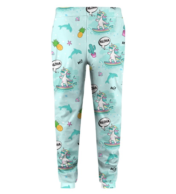 Surfing Unicorn Kids Sweatpants Miniatura 2