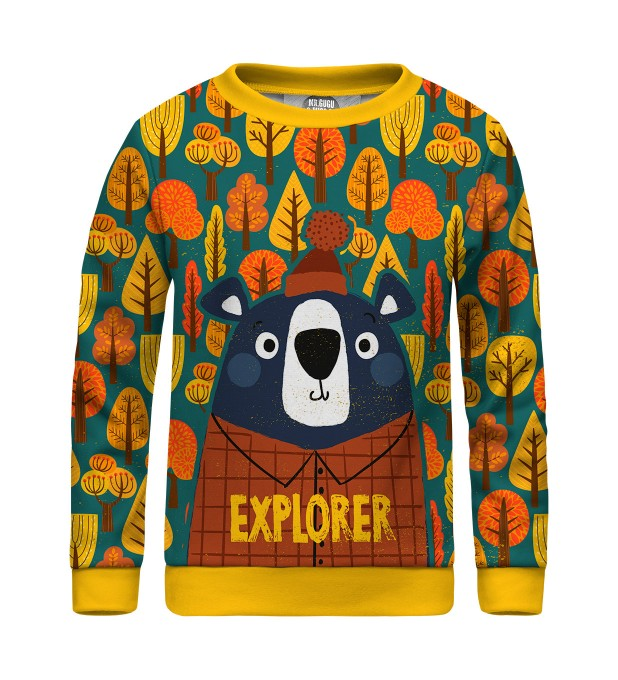 Bear Explorer sweater for kids Thumbnail 1