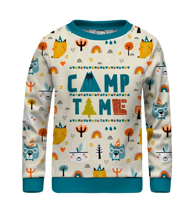 Camp Time sweater for kids Miniatura 1