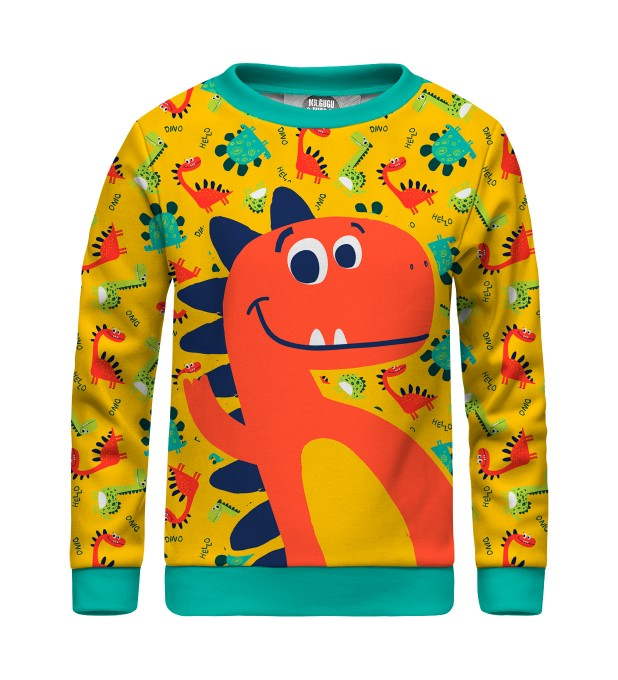 Dino sweater for kids Miniatura 1