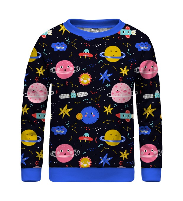 Funny Space sweater for kids Miniatura 1