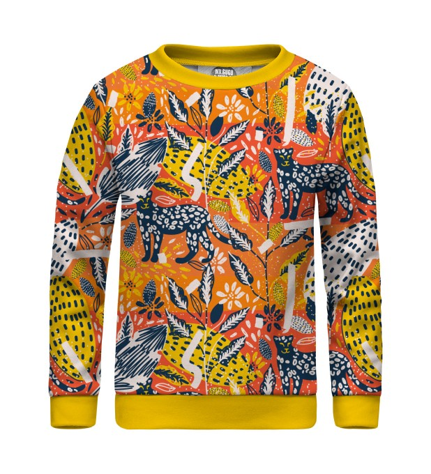 Jungle Panther sweater for kids Thumbnail 1