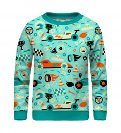 Mr. Gugu & Miss Go, Racing F-1 sweater for kids Miniature $i