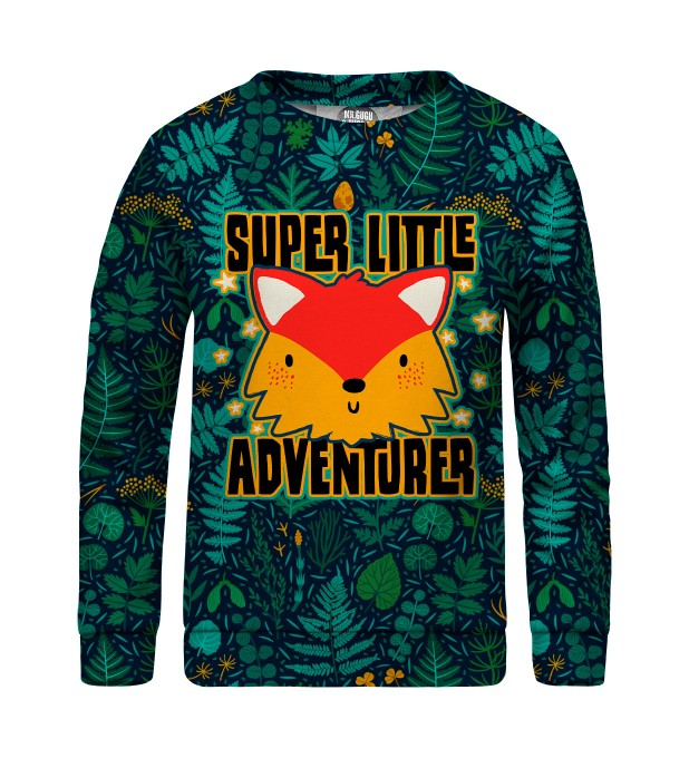 Super Little Adventure sweater for kids Thumbnail 1