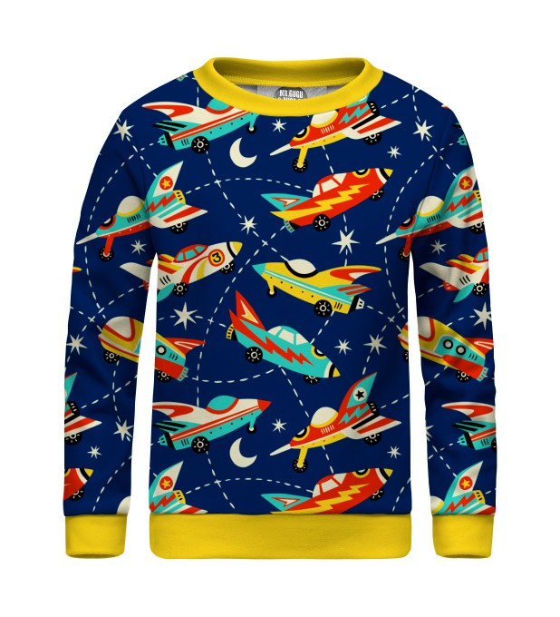Space Ship sweater for kids Miniatura 1