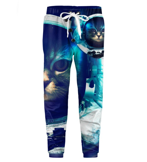 Space Cat Kids Joggers Miniature 1