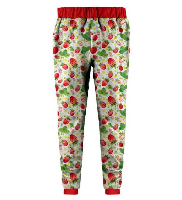 Strawberries Pattern Kids Joggers Miniature 2