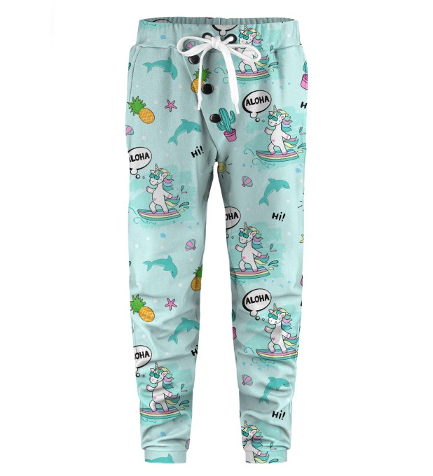 Surfing Unicorn Kids Joggers Thumbnail 1