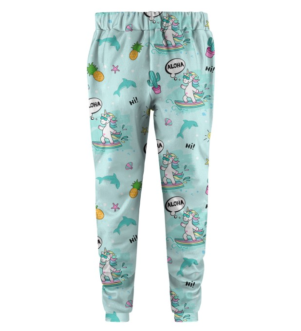 Surfing Unicorn Kids Joggers Thumbnail 2