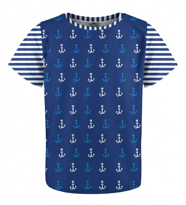 Ocean Pattern t-shirt for kids Miniatura 1