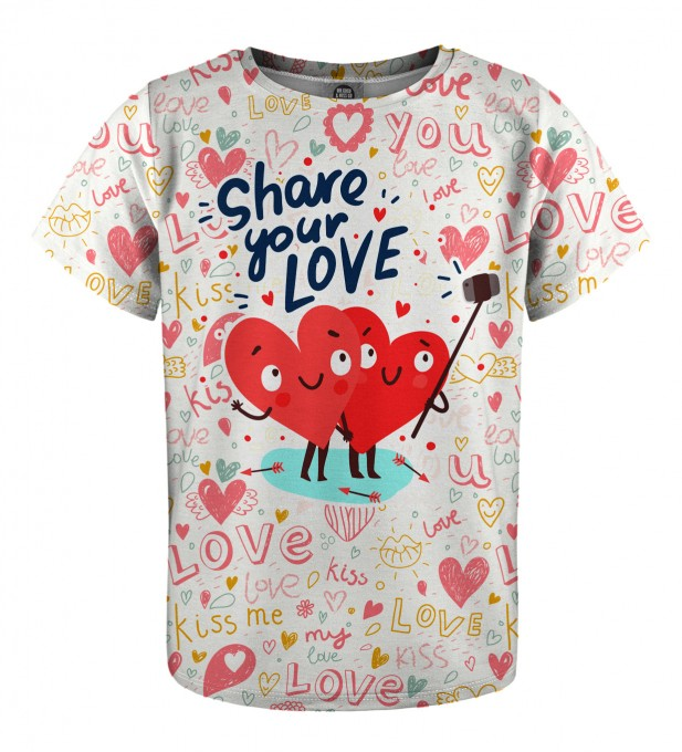 Love Selfie t-shirt for kids Miniature 1