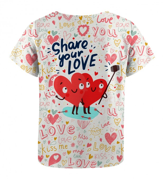 Love Selfie t-shirt for kids Miniature 2