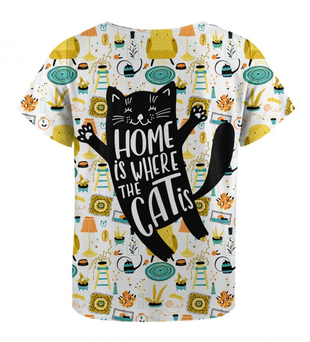 Home Cat t-shirt for kids Miniature 2