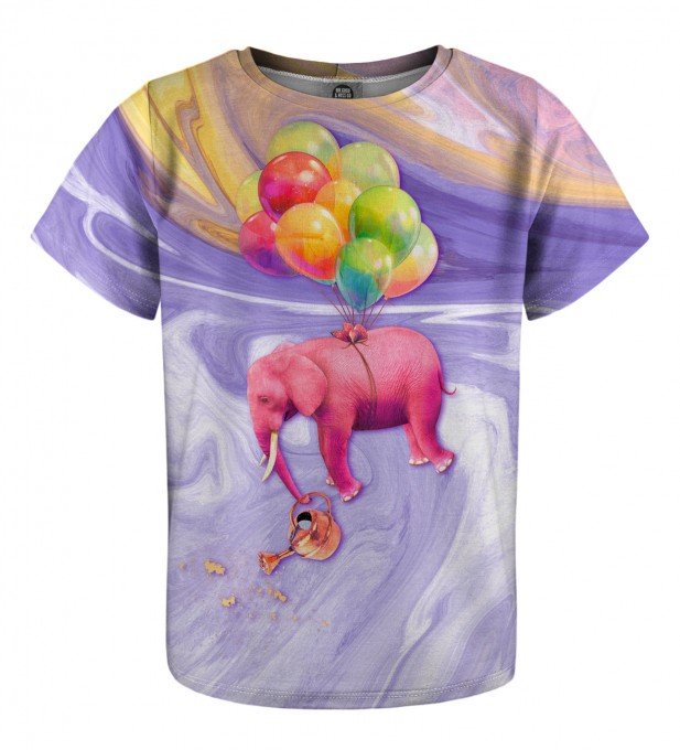 Elephant Balloons t-shirt for kids Miniatura 1