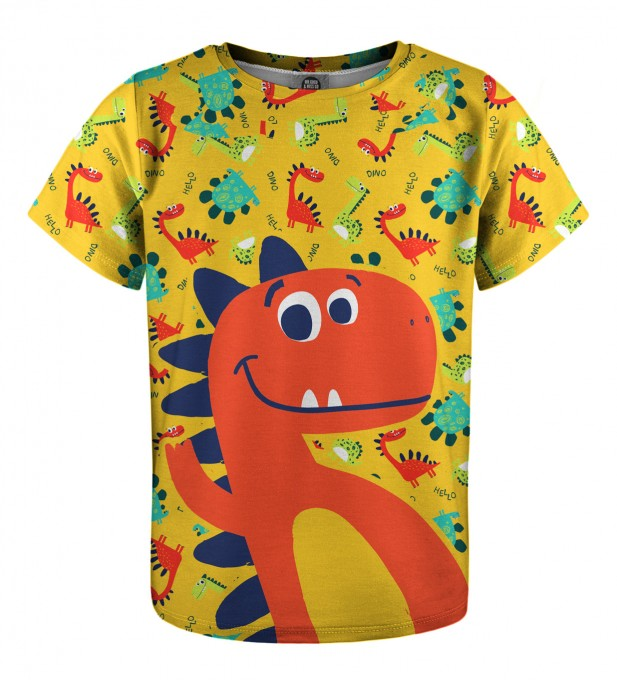 Dino t-shirt for kids Miniature 1