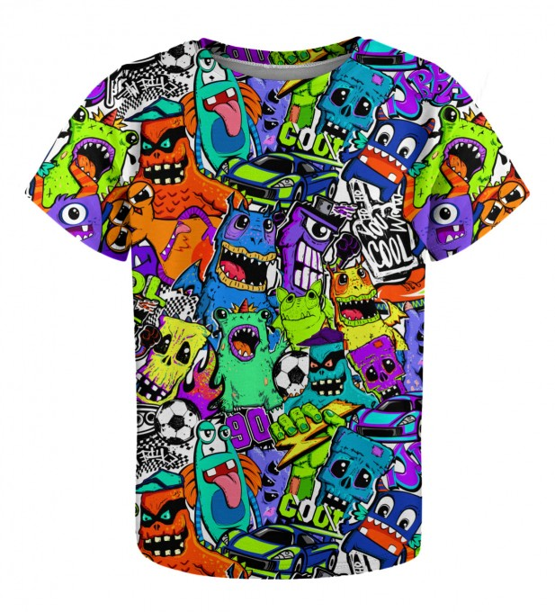 Colorful Monsters t-shirt for kids Miniature 1