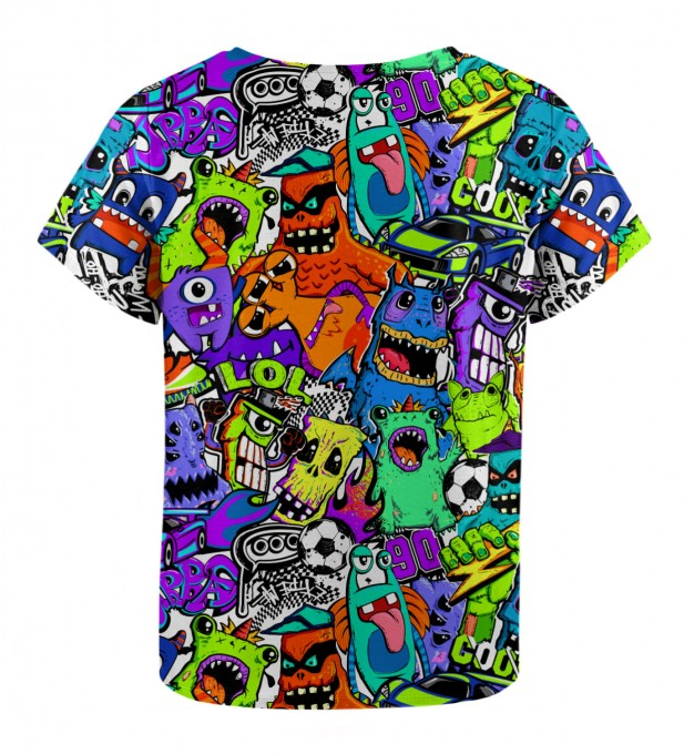 Colorful Monsters t-shirt for kids Miniatura 2