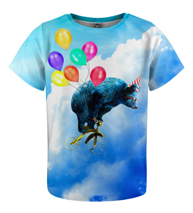 Cloud Ride t-shirt for kids Miniature 1