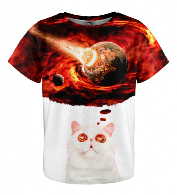 Cat Apocalypse t-shirt for kids Miniatura 1