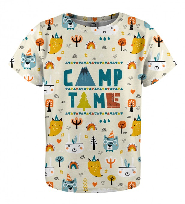 Camp Time t-shirt for kids Miniature 1